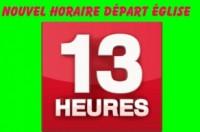 A compter du mardi 16 décembreet jusqu'au 1er mars l'heure de départ des sorties lesmardis, jeudis et samedis avance à 13h (au lieu de 13h30) La raison essentielle est […]