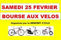 Bourse aux Vélos et aux Equipements à DANJOUTIN Le Samedi 25 février 2017 Cliquez sur l'image pour tout savoir sur la Bourse aux Vélos 2017