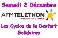 Rendez-vous le samdi 2 Décembre à 13h30 à la Maison Pour Tous de Danjoutin pour le TELETHON.