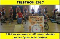 Téléthon 2017: Les Cyclos de la Denfert ont parcourus 1000 km et collectés 681 euros au profit du Téléthon.   Cliquez pour lire le compte rendu, découvrir les photos […]