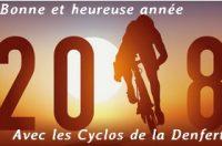 La Denfert Cyclo vous présente ses meilleurs Vœux pour 2018 Cliquez pour découvrir les Vœux du Bureau pour 2108