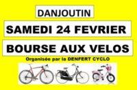 Bourse aux Vélos et aux Equipements à DANJOUTIN Le Samedi 24 février 2018 Cliquez sur l'image pour tout savoir sur la Bourse aux Vélos 2018