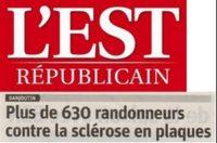 Un article de presse relatant le déroulement de la journée Sclérose est paru dans l'Est Républicain du mercredi 17 Octobre 2018.   Cliquez sur le logo pour lire l'article […]
