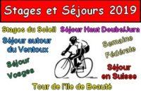La Denfert Cyclo vous présente les Stages et Séjours que propose le Club pour l'année 2019 Cliquez pour découvrir le programme 2019