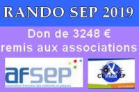 Le bénéfice de la Rando Sclérose 2019 a été remis aux associations AFSEP et CLIFRANSEP le samedi 26 Octobre à la Mairie de Danjoutin. Cliquez pour tout découvrir sur la […]