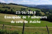Le samedi 23 Juin 7 adhérents du club ont réalisé une sortie du coté de Maîche. Cliquez sur la photo pour découvrir l'album de la sortie