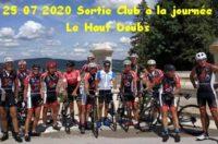 Le samedi 25 Juillet 2020 – 16 adhérents ont participés à la sortie dans le Haut Doubs 200 km sur le parcours Danjoutin Les Combes Danjoutin. Cliquez pour découvrir le […]